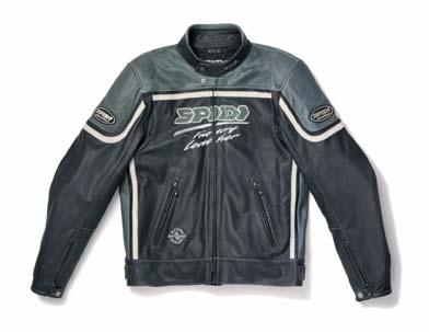 Spidi Nasty Leather Jacket Black/Anthracite