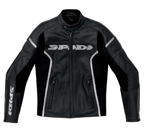Spidi GP Leather Jacket Black