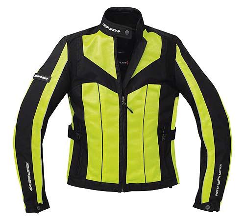Spidi NL5 Lady Jacket Yellow/Black Front