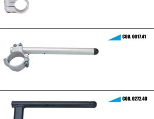 Half handlebars