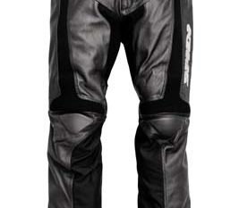 Spidi Teker Leather Pants Black