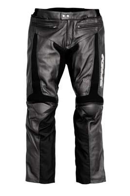 Spidi Teker Leather Pants Black
