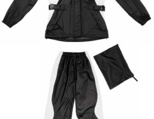 Spidi Sirena Lady Rain Suit Black/Silver