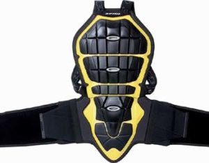 Spidi Back Warrior Z117 Black/Yellow