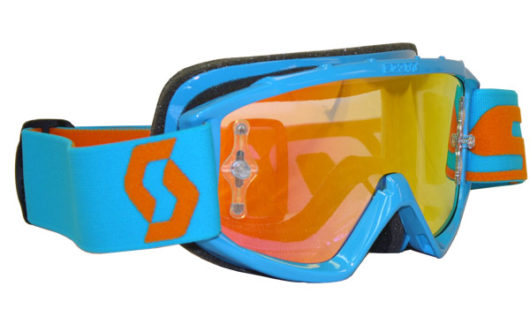 Scott Youth 89Si Pro Oxide Electric Blue Goggle Or