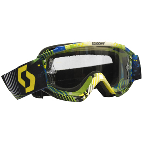 89SI Goggle Youth Pro Tangent blue/green Clear Len