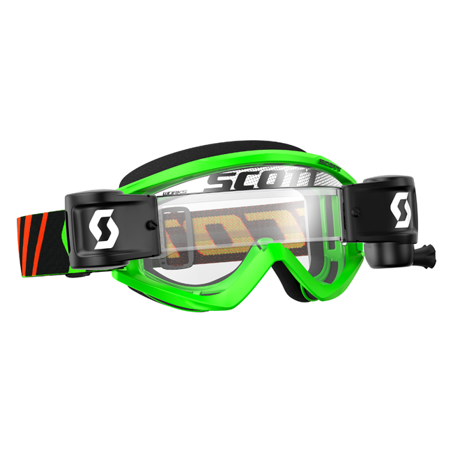 Scott recoil goggle with works grid film system shore for North shore motor works