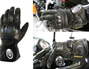 R&G Leather Deluxe Motorcycle Gloves
