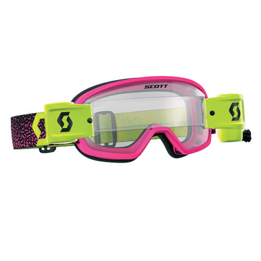 Buzz MX Pro Goggle WFS Pink_Yellow