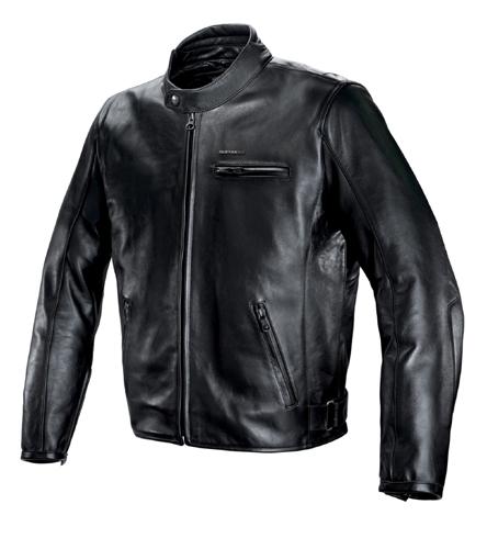Spidi Legend Leather Jacket Black