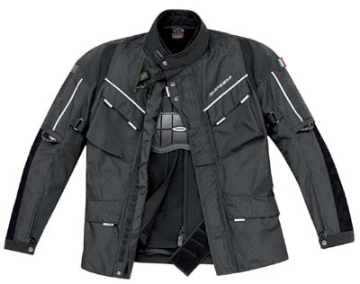 Spidi Grantourismo (GT) Pro Jacket Black