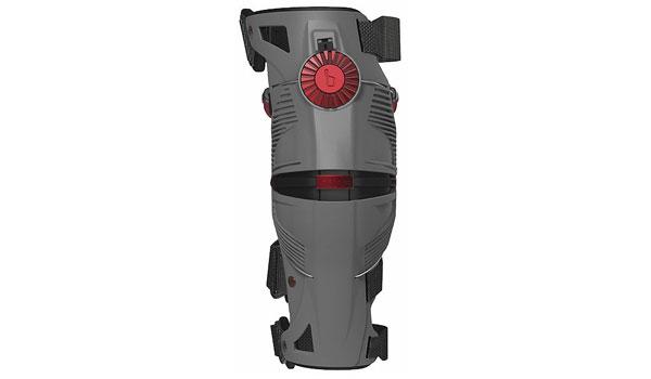 MOBIUS-X8 Knee Brace Grey/Crimson