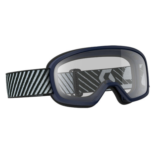 Buzz MX Goggle Blue Clear lens 2018