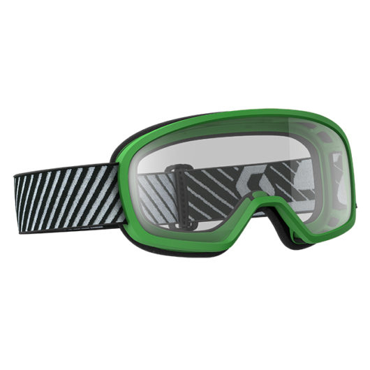 Buzz MX Goggle Green Clear Lens 2018