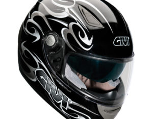 Givi H402 Demon Full Face Helmet Black/Silver