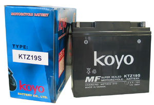 Koyo Battery KTZ19-S