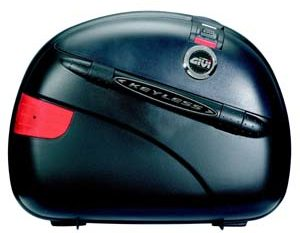 Givi E41NN Monokey Cases Black with black lids