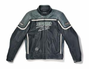 Spidi Nasty Leather Jacket Black/Anthracite