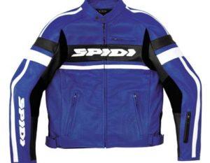Spidi Scarface Wind Leather Jacket Blue