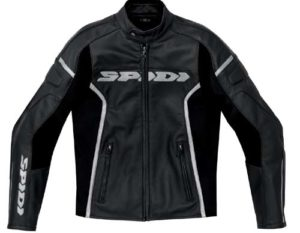 Spidi GP Leather Jacket Black