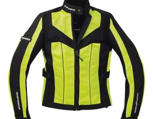 Spidi NL5 Lady Jacket Yellow/Black Front