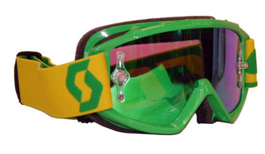 Scott Youth 89Si Pro Works Oxide Lime Green Goggle