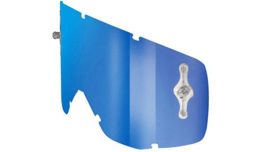 Hustle Lens Blue Chrome Works Electric Blue Scott