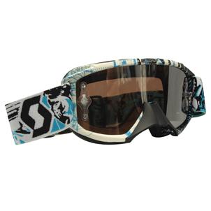 89SI Goggle Youth Pro Vice Black/Blue Chrome Lens