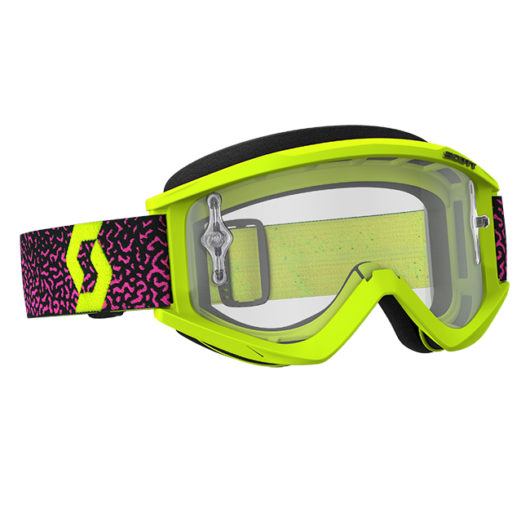 Recoil Xi Goggle Yellow_Pink Clear 2018