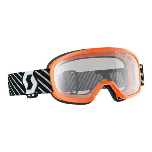 Buzz MX Goggle Orange Clear lens