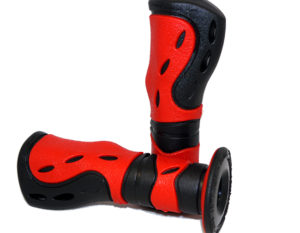 PG733BR Scooter Grip Black/Red