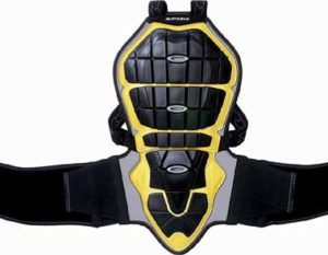 Spidi Back Warrior Lady Z109 Black/Yellow