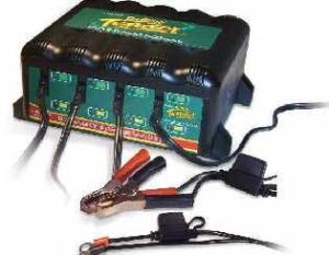 Deltran Battery Tender 4-Bank International Plus