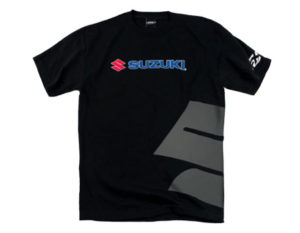 Factory Effex Suzuki Big S T-Shirt - (Black)