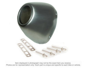 FMF Factory 4.1 RCT Stainless Steel End Cap Kit
