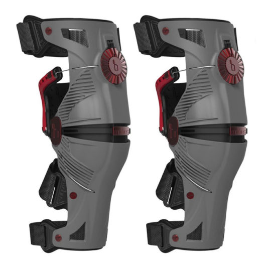 MOBIUS-X8 Knee Brace Grey/Crimson