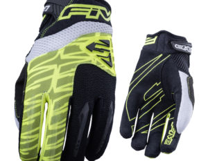 MXF2 Five Glove Fluro Yellow