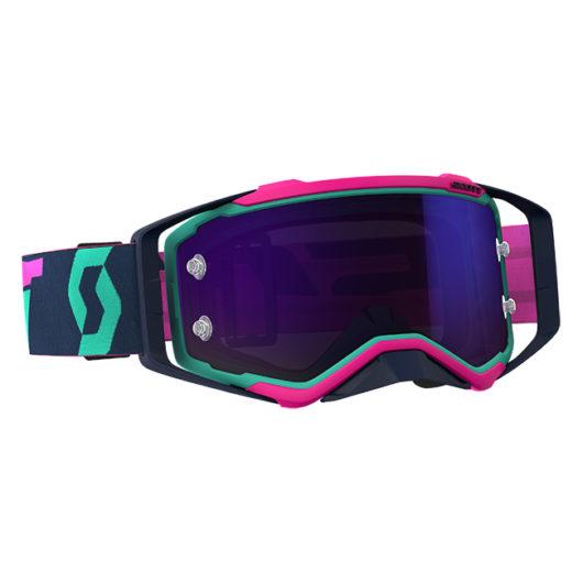 Prospect Goggle Teal_Pink Purple Chrome wks Lens