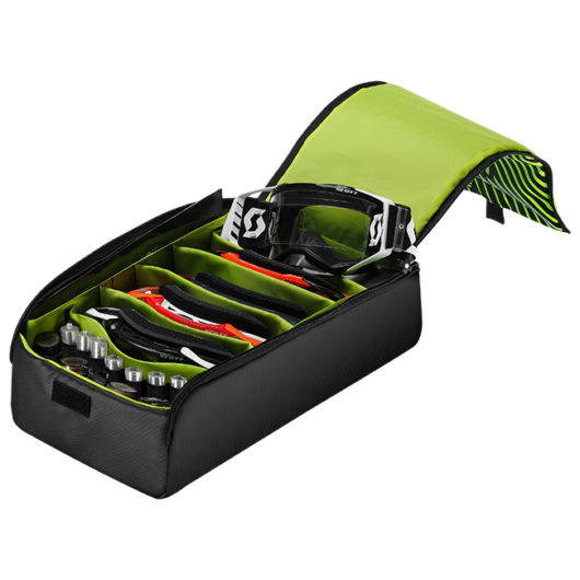 Scott Goggle Case Black_Neon Yellow