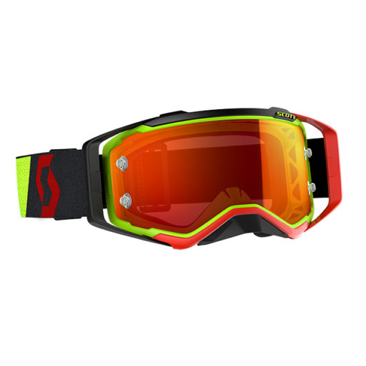 Prospect Goggle Green/Black Yellow Chrome Works Le