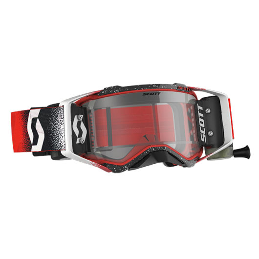 Scott Prospect WFS Goggle White Red Clear Works