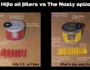 Hiflo oil filter vs the nasty option