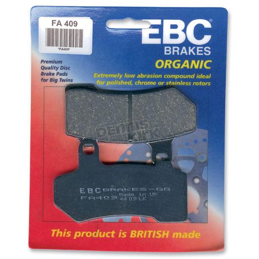 EBC Brakes Organic Streetbike Pads